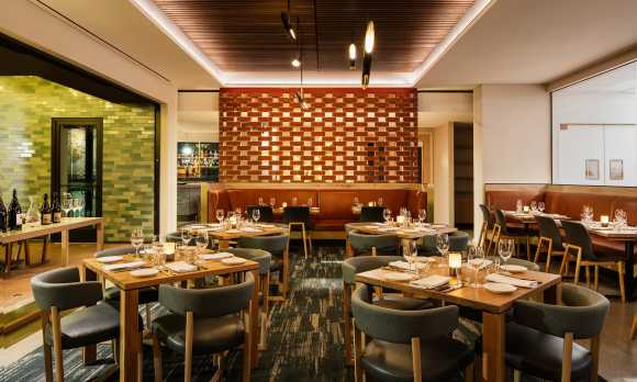 Ox + Anchor Dining Room