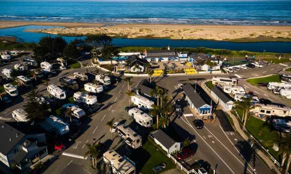 Pismo Coast Village Aerial