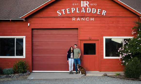Creamery owners Jack and Michelle Rudolph