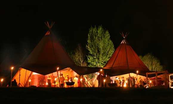 Tent Tipis
