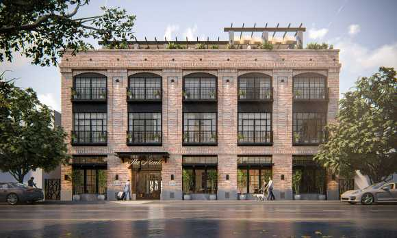 The Piccolo: Hotel Exterior Rendering