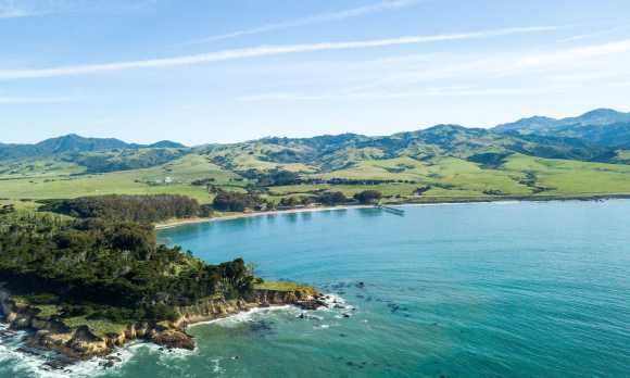 Located on San Simeon Bay