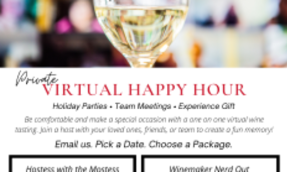Private Virtual Happy Hour