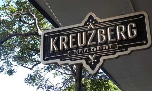 KREUZBERG SLO sign