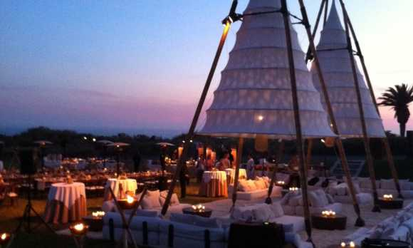 Dinner Party Under the Stars