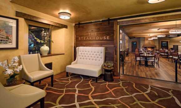 The Steakhouse Entrance