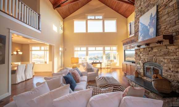 Riata Ranch House - Main Living Area