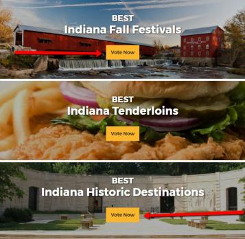 Visit Indiana's Best of Fall 2017