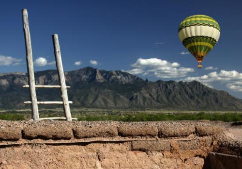 Balloon and Mountain