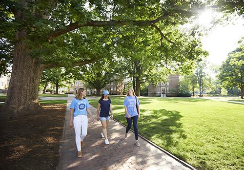 Touring UNC Campus
