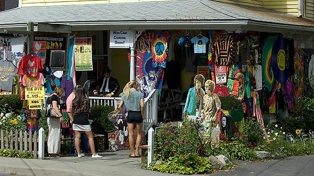 Woodstock storefront