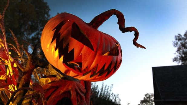 Horseman's Hollow jack-o-lantern