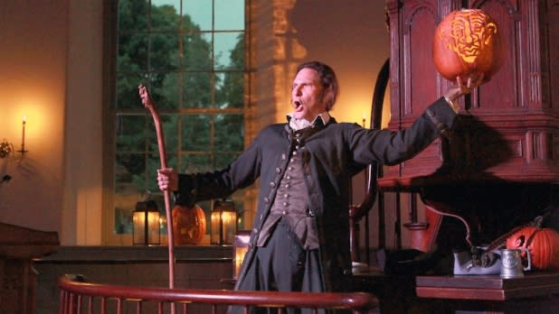 Legend of Washington Irving Performer at Old Dutch Church of Sleepy Hollow