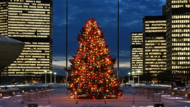 Empire State Plaza Tree Lighting