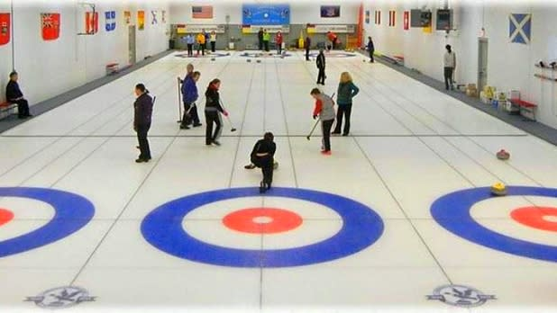 Kids at Ardsley Curling Club