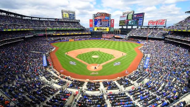 Aerial view of CitiField, home of The New York Mets