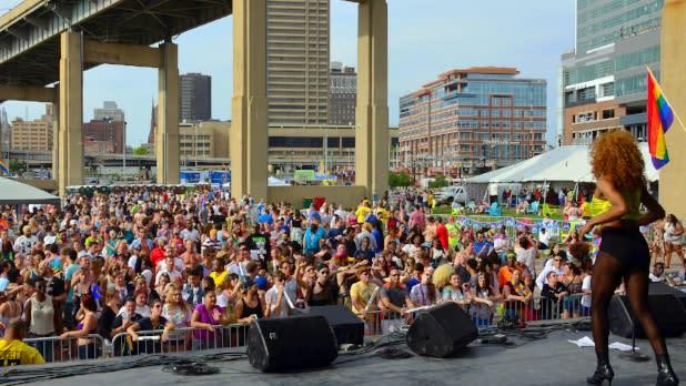 Buffalo Pride 2015 Canalside - Photos by J. Carocci - Courtesy of Pride Center of WNY