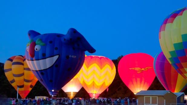 Saratoga Balloon and BBQ Festival
