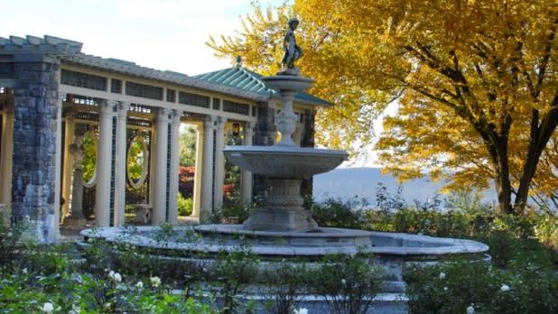 Rockefeller estate Kykuit gardens