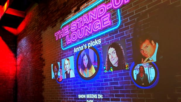 The Stand-Up Lounge at the National Comedy Center