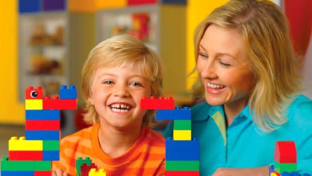 Family at Adventure in Legoland