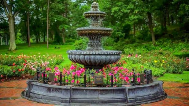 Central Park - Rose Garden