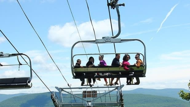 Scenic Skyride on the Kaatskill Flyer _skyrideroller