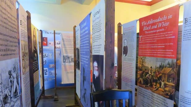 Abolitionist hall of fame exhibit