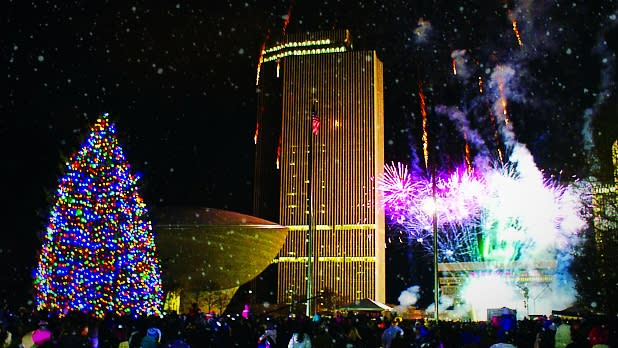 Empire State Plaza Holiday Tree Lighting