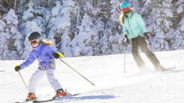 Family Skiing on Whiteface Mountain