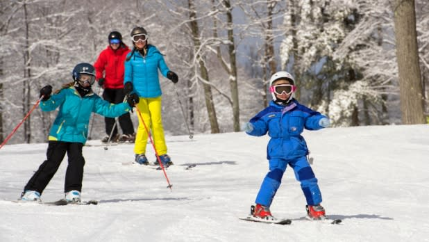 Family Skiing at Bristol Mountain Ski Center