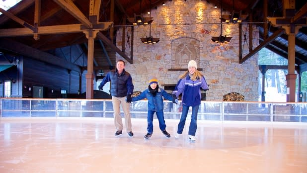 Mohonk Ice Skating