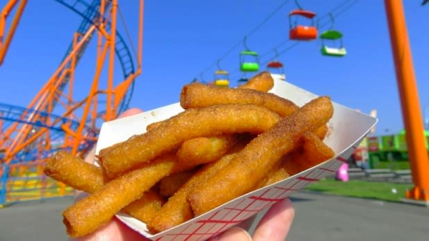 State Fair Donut Fries