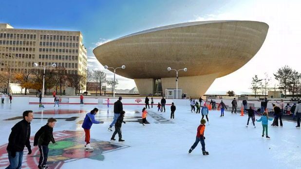 Skate Rink at Empire State Plaza
