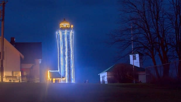 Lighting of Tibbetts Point Lighthouse