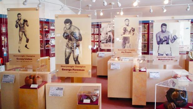 Inside the International Boxing Hall of Fame