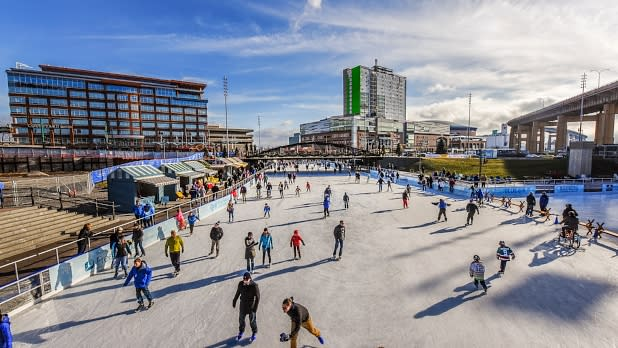The Ice at Canalside - Joe Cascio