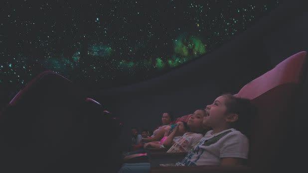 Hudson River Museum's Planetarium