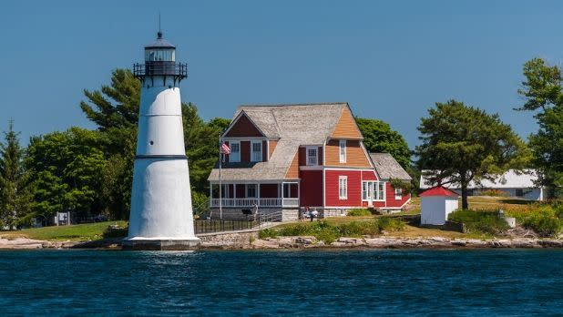 Rock Island Lighthouse State Park, Alexandria Bay, Jefferson County- Thousand Island Region
