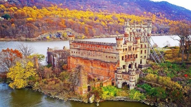 Bannerman Castle, fall