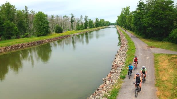 Erie Canal Bike Tours
