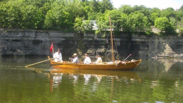 Mabee Farm Historic Site bateau boat