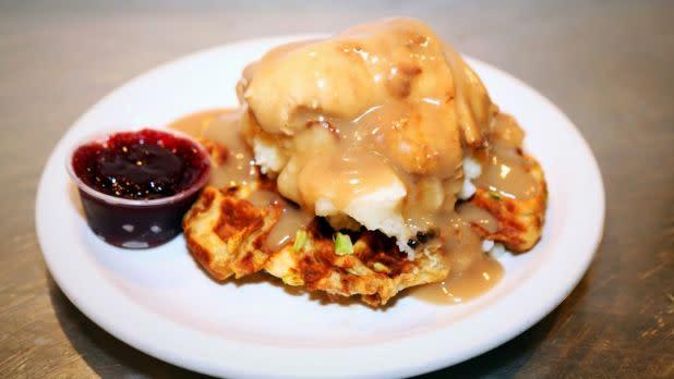 Funk 'n Waffles - Jive Turkey waffle