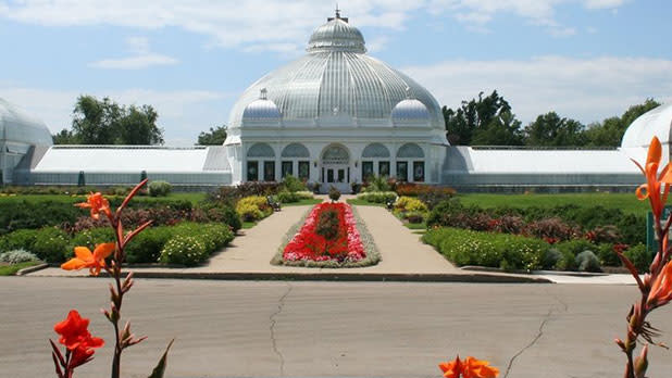 Buffalo and Erie County Botanical Gardens - Photo by Paul Scarf