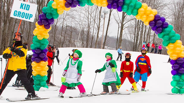 Holiday Valley's Winter Carnival & Ellicottville's Mardi Gras