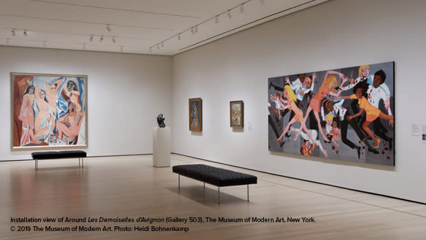 A gallery at MoMA