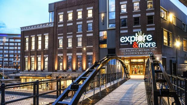 Exterior of Explore & More in Buffalo
