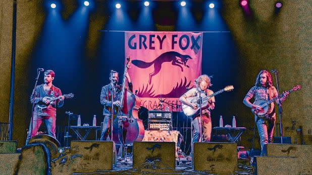 Grey Fox Bluegrass Festival, Billy Strings Band, Main Stage