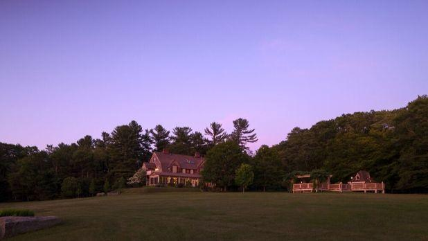 A photo of Inn at Lake Joseph during the evening