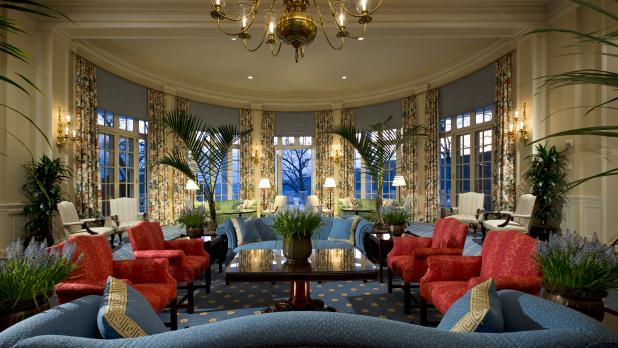 Otesaga Resort Hotel Lobby in Cooperstown